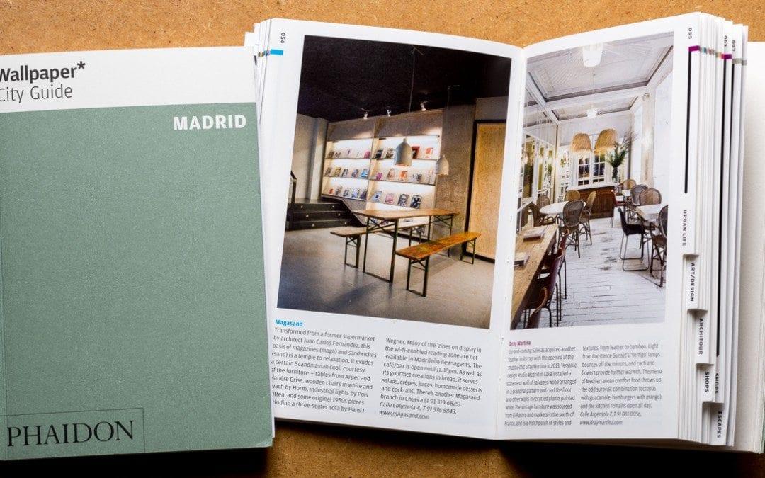 Aparición en la guía de Madrid de Wallpaper