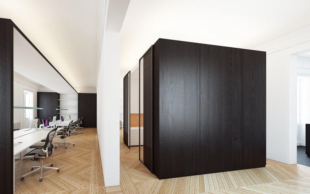 Nuevo proyecto oficinas: contenedor y contenido…