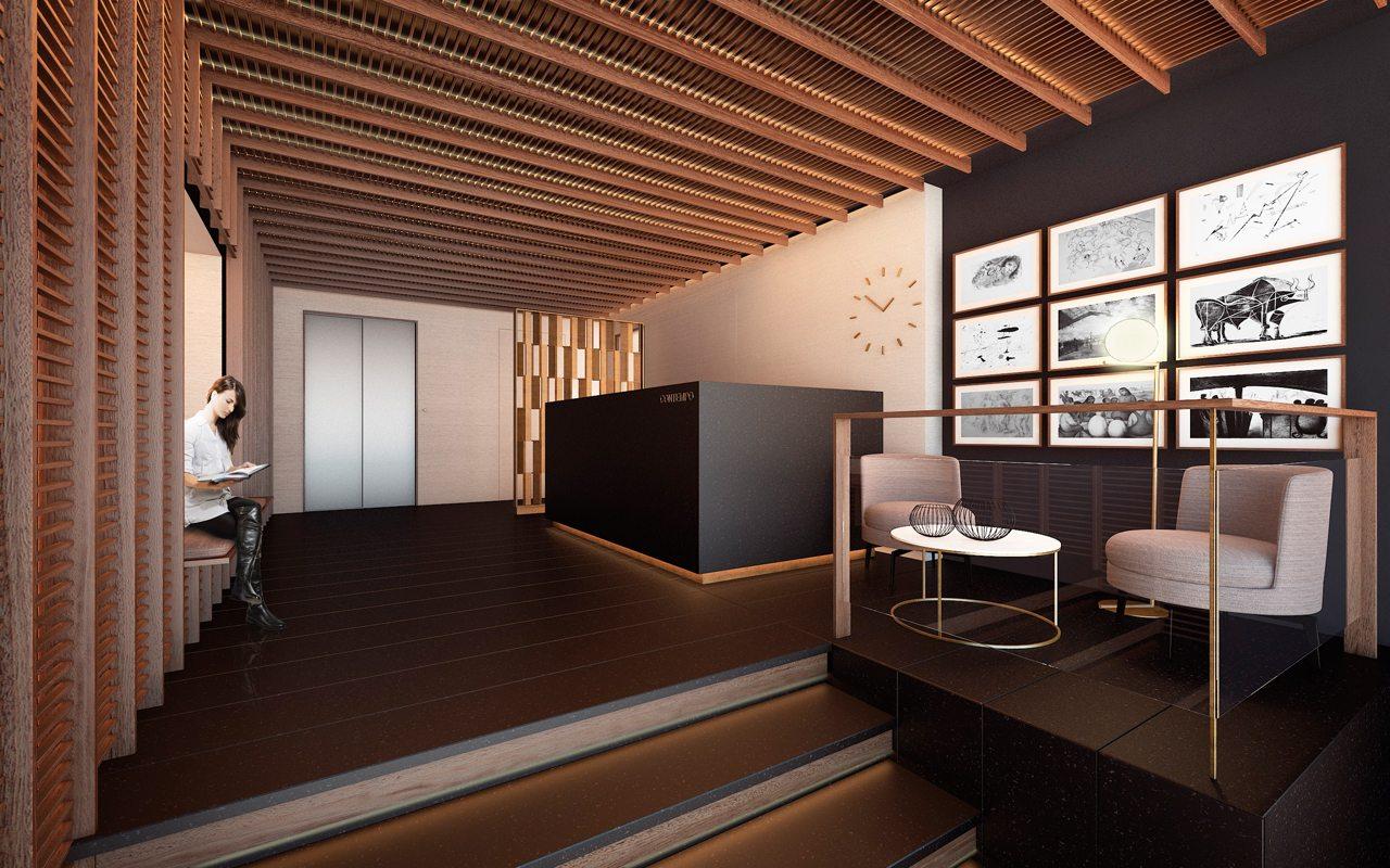 Ventura: Lobby Suites Contempo