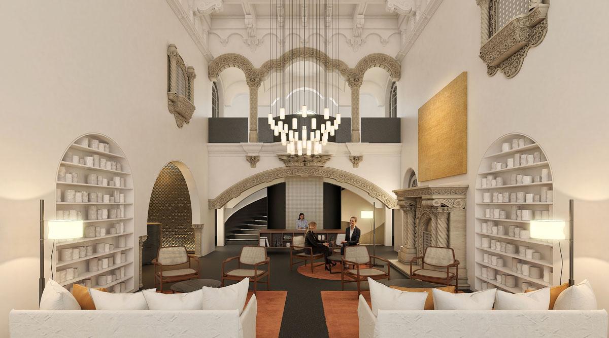 Ventura. Hotel Boutique MX - Recepción